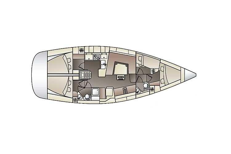 www.sailmarine.com  elan_444_impression_4-cab_plan