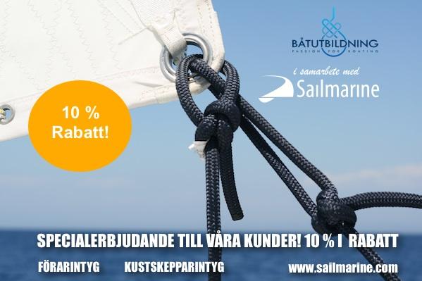 Förarintyg Kustskepparintyg Båtutbildning Navigationsutbildning Sailmarine
